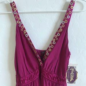 {Hale Bob} NWT Silk Maxi Dress